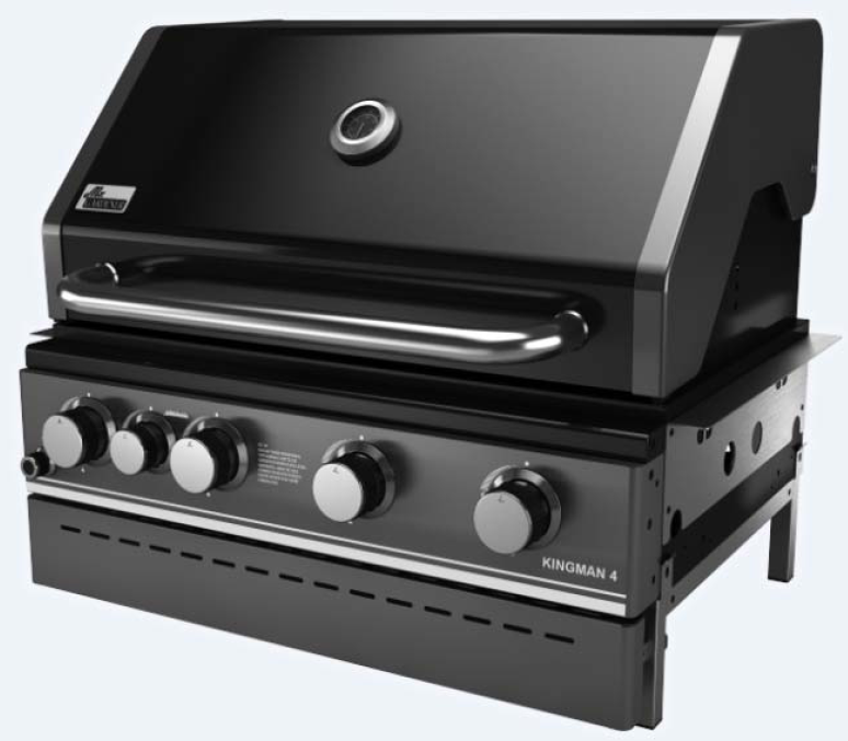 Gasgrill Kingman 4 Built in 2020